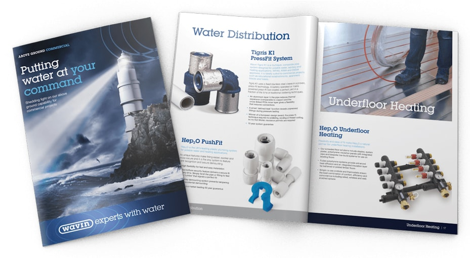 Brochure Design for Water Company