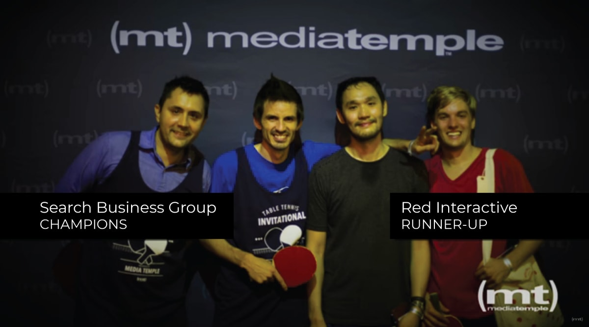 Table Tennis Champions - Search Business Group