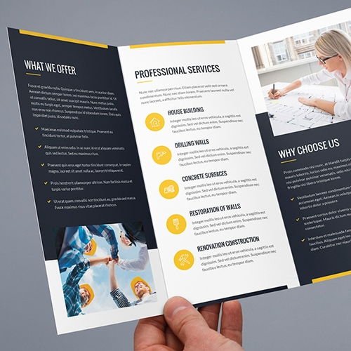 Brochure Scope Of Attention